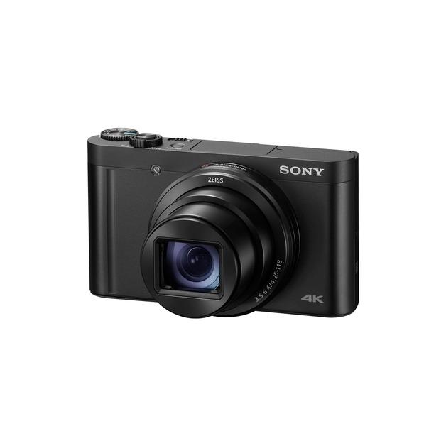 Sony DSCWX800 18.2MP CMOS 28x Zoom Digital Camera Black