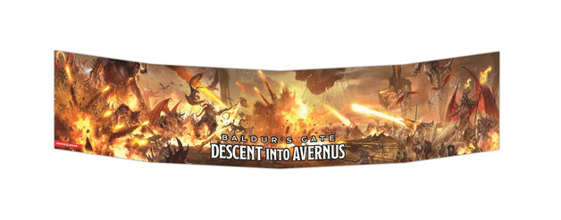 D&D Baldurs Gate Descent into Avernus DM Screen