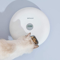 Smart Automatic Pet Feeder 6-Grid 180ml (White)