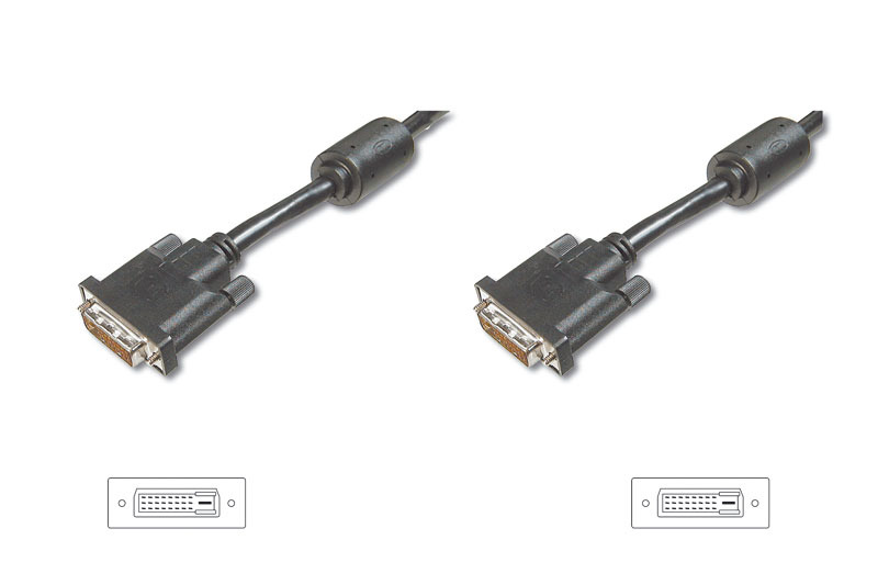 10m Digitus DVI-D Male to DVI-D Male Cable image