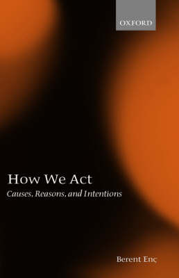 How We Act by Berent Enc image