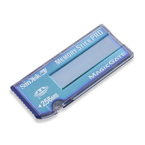 SanDisk Memory Stick PRO 256MB image