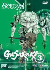 Gasaraki - 3 on DVD
