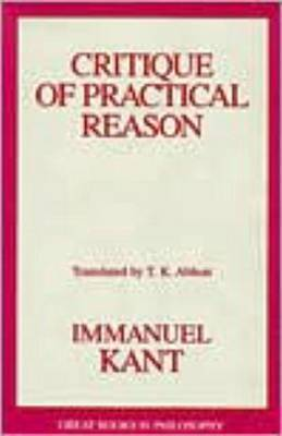 Critique Of Practical Reason by Immanual Kant
