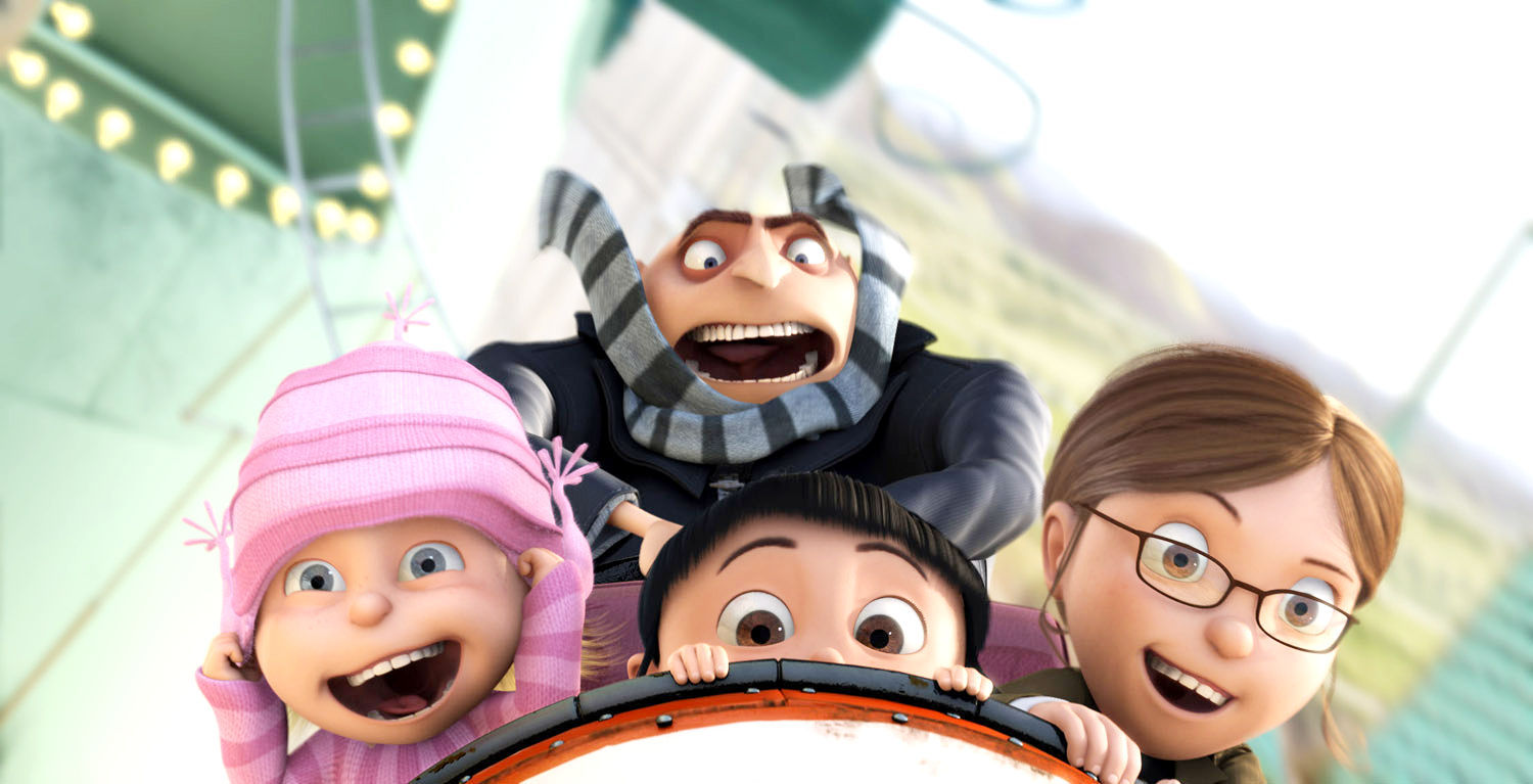 Despicable Me 2 / Despicable Me on DVD image