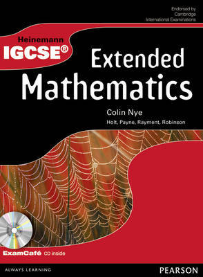 Heinemann IGCSE Maths Extended Student Book by Colin Nye
