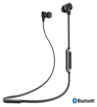 iLuv Bluetooth Tangle-Free Stereo in-ear Earbuds With Built-in Mic (Black)