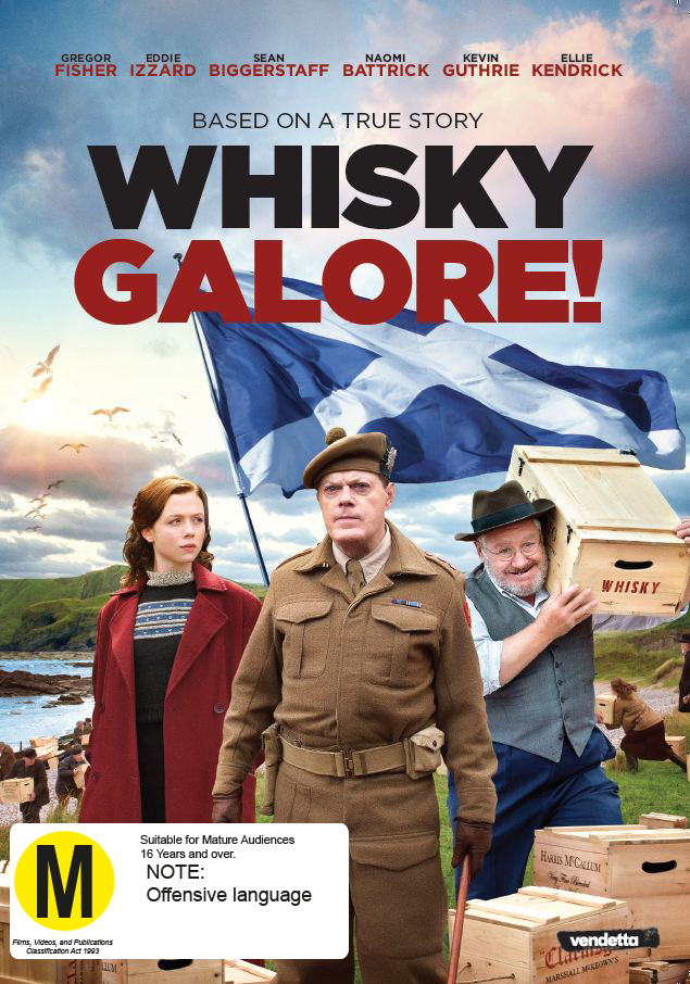 Whisky Galore on DVD image