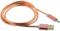 TouchLight Charge: 1m USB Charging Cable - Micro USB (Pink) image