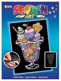 Sequin Art - Ice Cream