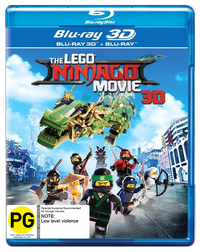 The Lego Ninjago Movie (3D Blu-ray) on 3D Blu-ray image