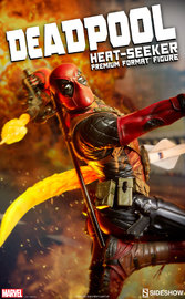 "Marvel: Deadpool (Heat-Seeker) - 26"" Premium Format Figure"