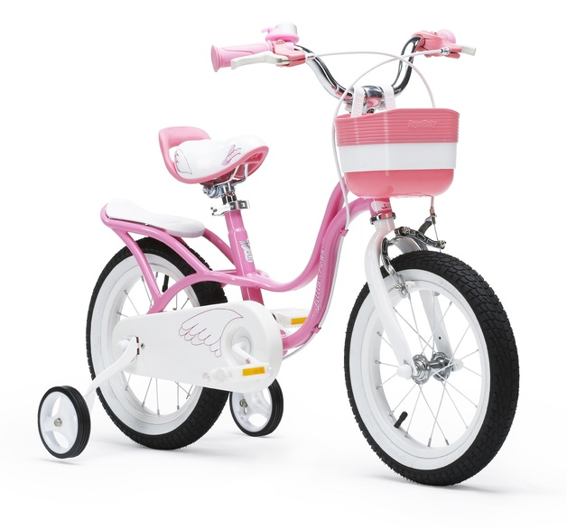 "RoyalBaby: Little Swan RB-18 - 14"" Bike (Pink)"