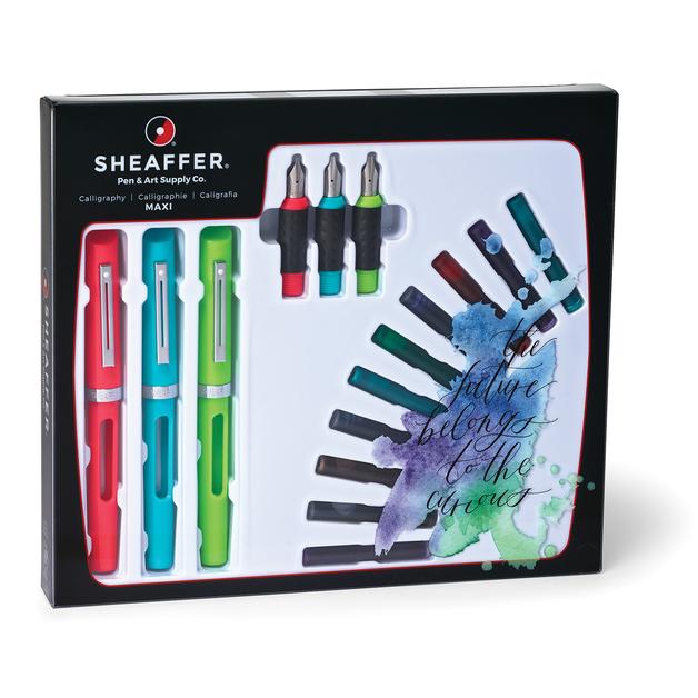 Sheaffer: Calligraphy Fountain Pen Maxi Kit