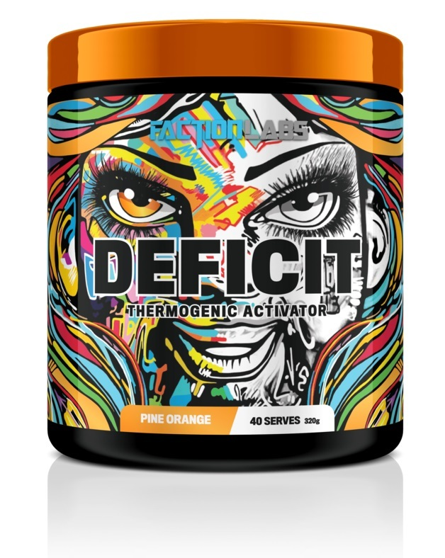 Faction Labs: Deficit Thermogenic Activator - Passionfruit (320g - 40 Serves)