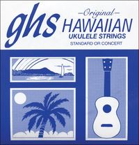 GHS Hawaiian Ukulele Strings Standard