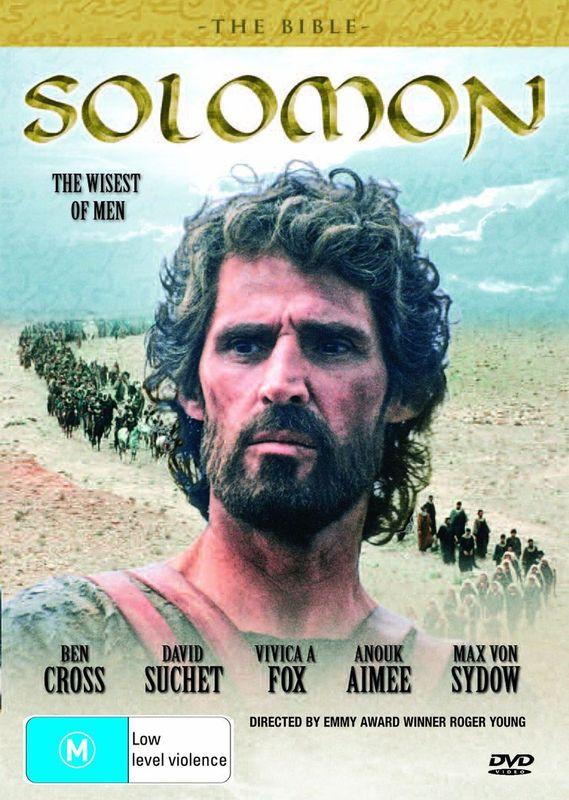The Bible: Solomon on DVD