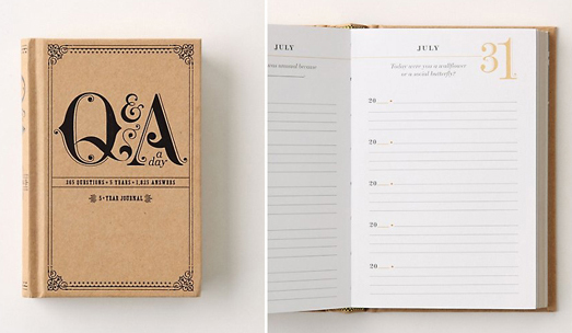 Q&A a Day: 5-Year Journal image