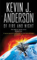 Of Fire and Night (Saga of Seven Suns #5) by Kevin J. Anderson