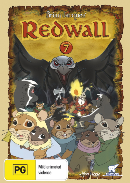 Redwall (Brian Jacques') - Vol. 7 on DVD image