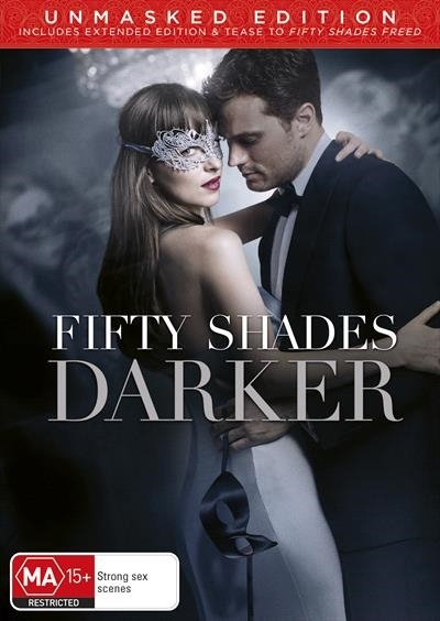 Fifty Shades Darker on DVD image
