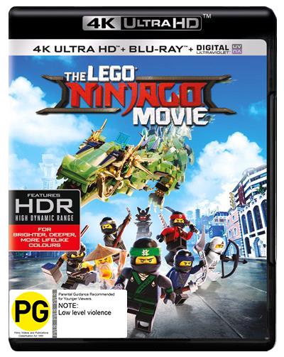The Lego Ninjago Movie (4K Blu-ray + Blu-ray) on UHD Blu-ray