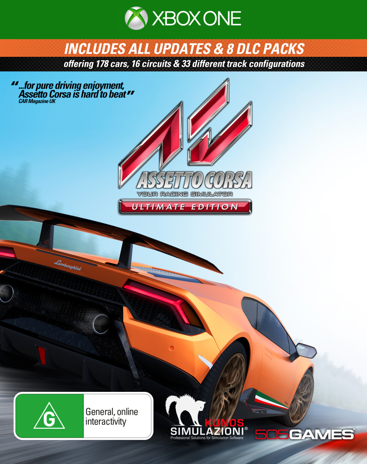 assetto corsa ultimate edition xbox one in stock. Black Bedroom Furniture Sets. Home Design Ideas