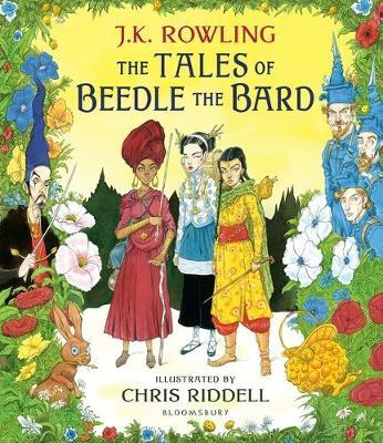 The Tales of Beedle the Bard - Illustrated Edition by J.K. Rowling image