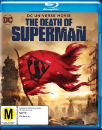 The Death of Superman on Blu-ray