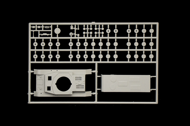 Italeri 1/72 Flakpanzer Wirbelwind - Scale Model Kit image