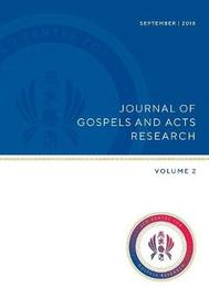 Journal of Gospels and Acts Research by Mary Ann Beavis image