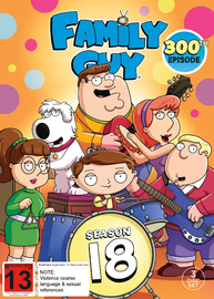 Family Guy: Season 18 on DVD image