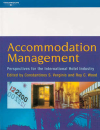 Accommodation Management: Perspectives for the International Hotel Industry by Roy C. Wood image
