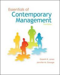 Essentials of Contemporary Management by Gareth R Jones image