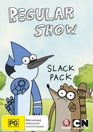 Regular Show Slack Pack on DVD