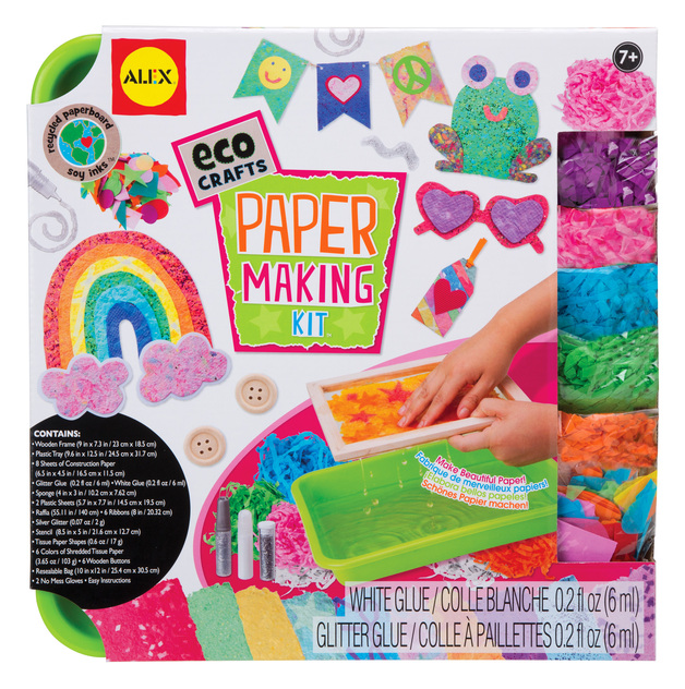 Alex Eco Crafts Paper Making Kit Toy At Mighty Ape Australia