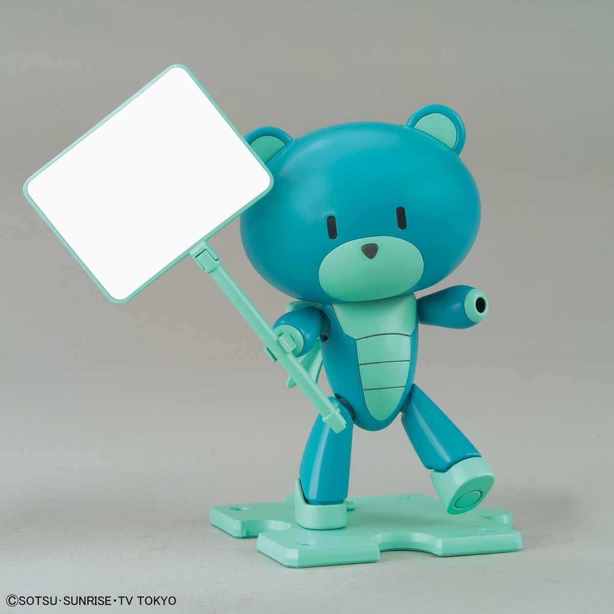 HGPG 1/144 Petit'gguy Diver Blue & Placard - Model Kit image