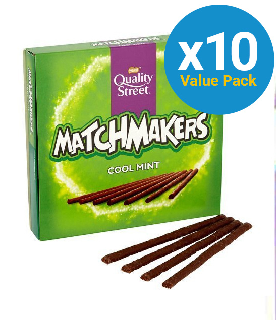 Quality Street Matchmakers Cool Mint (130g) 10pk