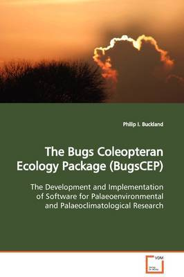 The Bugs Coleopteran Ecology Package (Bugscep) by Philip I. Buckland image