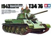 Tamiya Soviet T-34/76 1943 Tank 1:35 Model Kit