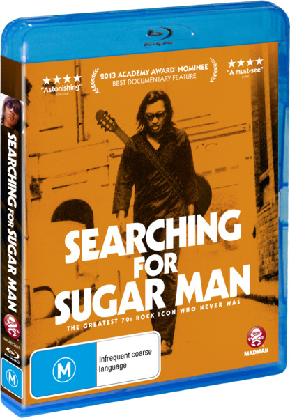 Searching For Sugar Man on Blu-ray image