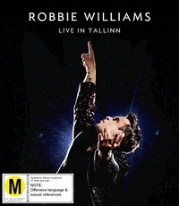 Robbie Williams: Live In Tallinn (DVD) DVD by Robbie Williams