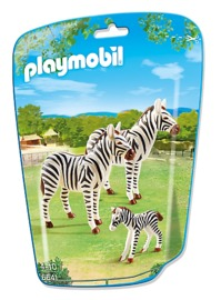 Playmobil: Zoo Theme - Zebra Family (6641)