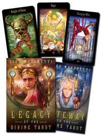 Legacy of the Divine Tarot (Deck & Guidebook) by Ciro Marchetti