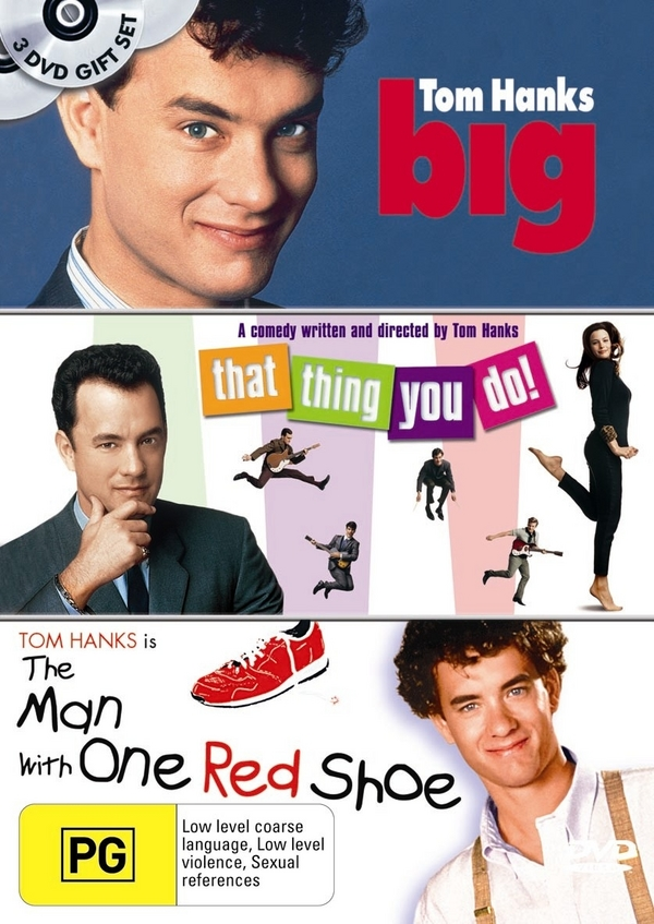 Big / That Thing You Do / Man With One Red Shoe (3 Disc Set) on DVD image