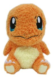 Pokemon: Charmander - Mokomoko Stuffed Toy