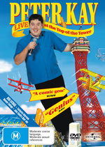 Peter Kay - Live At The Top Of The Tower on DVD