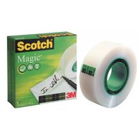 3M Scotch: Magic Tape 810 - 19mm x 33m