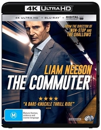The Commuter (4K UHD + Blu-ray) on UHD Blu-ray