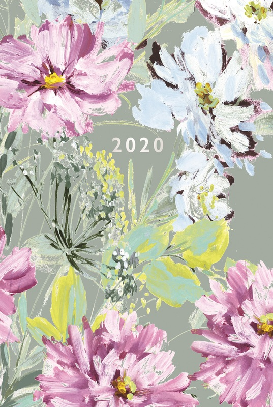 Portico: Laura Ashley 2020 A5 Flexi Diary